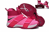 Nike Zoom LeBron Soldier 10 Pink Mens Nike Lebron James Basketball Shoes SD1,baseball caps,new era cap wholesale,wholesale hats