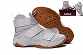 Nike Zoom LeBron Soldier 10 White Gum Mens Nike Lebron James Basketball Shoes SD6,baseball caps,new era cap wholesale,wholesale hats