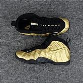 Nike Air Foamposite Pro Metallic Gold Logo Mens Nike Foamposites Basketball Shoes SD61,baseball caps,new era cap wholesale,wholesale hats