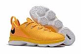 Nike Lebron 14 Low Shoes Yellow White Mens Nike Lebrons James 14s Basketball Shoes SD16,baseball caps,new era cap wholesale,wholesale hats