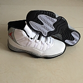 Air Jordan 11 Retro Grey White 2018 Mens Air Jordans Retro 11s Basketball Shoes XY285,baseball caps,new era cap wholesale,wholesale hats