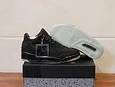 Air Jordan 3 Retro Flyknit Black 2018 Mens Air Jordans Retro 3s Basketball Shoes XY138,baseball caps,new era cap wholesale,wholesale hats