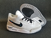 Off-white Air Jordan 3 Retro 2018 Mens Air Jordans Retro 3s Basketball Shoes XY137,baseball caps,new era cap wholesale,wholesale hats
