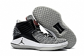 Air Jordan 32 MVP black cement Shoes 2018 Mens Air Jordans Retro 3s Basketball Shoes XY13,baseball caps,new era cap wholesale,wholesale hats