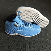 Air Jordan 12 University Blue 2018 Mens Air Jordans Retro 12s Basketball Shoes XY189,baseball caps,new era cap wholesale,wholesale hats