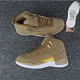 Air Jordan 12 Wheat 2018 Mens Air Jordans Retro 12s Basketball Shoes XY190,baseball caps,new era cap wholesale,wholesale hats