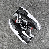 Air Jordan 3 Black Cement 2018 Mens Air Jordans Retro 3s Basketball Shoes XY131,baseball caps,new era cap wholesale,wholesale hats