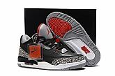Air Jordan 3 OG Black Cement 2018 Mens Air Jordans Retro 3s Basketball Shoes AAAA Grade XY130,baseball caps,new era cap wholesale,wholesale hats