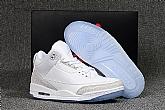Air Jordan 3 Pure White 2018 Mens Air Jordans Retro 3s Basketball Shoes XY133,baseball caps,new era cap wholesale,wholesale hats
