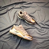Air Jordans 11 Low GS Rose Gold 2018 Girls Womens Air Jordans Retro 11s Basketball Shoes XY61,new jordan shoes,cheap jordan shoes,jordan retro 11,jordans shoes,michael jordan shoes