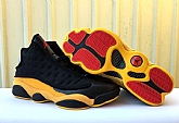 Air Jordan 13 Retro Melo Black Yellow Red 2018 Mens Air Jordans Retros 13s Basketball Shoes XY241,baseball caps,new era cap wholesale,wholesale hats
