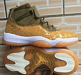 Air Jordan 11 Gold Mens Retro Jordans 11s Shoes XY2,baseball caps,new era cap wholesale,wholesale hats
