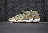 Air Jordan 11 Olive Lux Mens Retro Jordans 11s Shoes XY5,baseball caps,new era cap wholesale,wholesale hats
