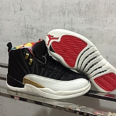 Air Jordan 12 CNY Chinese New Years Jordans 2019 Mens Retro Jordans 12s Shoes XY1,baseball caps,new era cap wholesale,wholesale hats