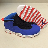 Air Jordan retro 10 Blue Red 2018 Air Jordans Retro 10s Basketball Shoes XY7,baseball caps,new era cap wholesale,wholesale hats