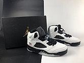 Air Jordans 5 Retro PSG White Mens Air Jordans 5s Basketball Shoes XY218,baseball caps,new era cap wholesale,wholesale hats