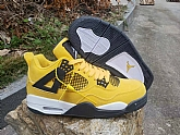 Air Jordan 4 Yellow 2019 Mens Retro Jordans 4s Shoes SD4,baseball caps,new era cap wholesale,wholesale hats