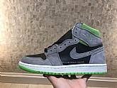 Air Jordan 1 Retro High Grey Green Mens Retro Jordans 1s Shoes SD12,baseball caps,new era cap wholesale,wholesale hats